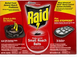 Raid® Double Control Small Roach Baits Plus Egg Stoppers™