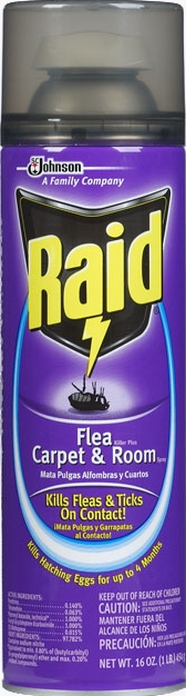 Raid Flea Plus Carpet And Room Spray Safe For Cats Vidalondon