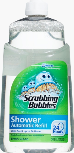 Scrubbing Bubbles® Auto Shower Cleaner Refill - Fresh Clean