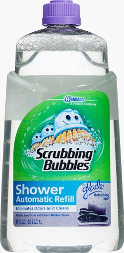 Scrubbing Bubbles® Auto Shower Cleaner Refill - Refreshing Spa® (Discontinued)