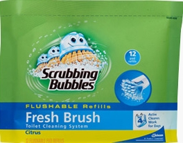 Scrubbing Bubbles® Fresh Brush® Flushable Refills