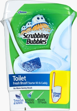 Scrubbing Bubbles® Fresh Brush™ Toilet Cleaning System - Starter Kit