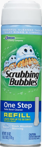 Scrubbing Bubbles® One Step Toilet Bowl Cleaner Refill - Fresh Mountain Morning®