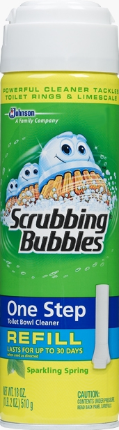 Scrubbing Bubbles® One Step Toilet Bowl Cleaner Refill - Sparkling Spring