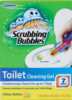 Scrubbing Bubbles® Toilet Cleaning Gel - Citrus