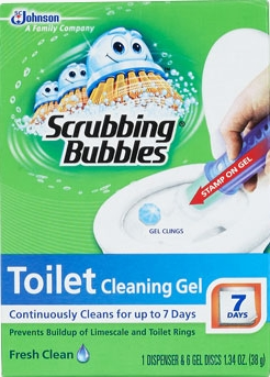 Scrubbing Bubbles® Toilet Cleaning Gel - Fresh Clean (Discontinued)