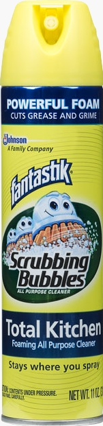 Scrubbing Bubbles® Total Kitchen Foaming All Purpose Cleaner with fantastik®