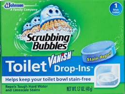 Scrubbing Bubbles® Vanish® Drop-Ins® Toilet Bowl Cleaner