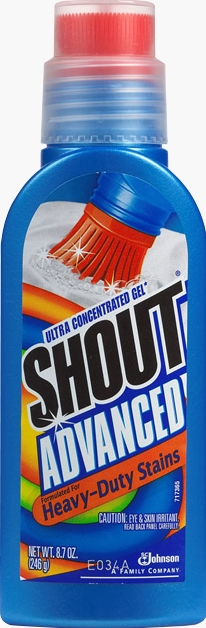 Shout® Advanced Ultra-Concentrated Gel Brush