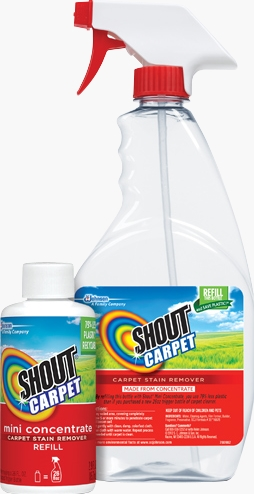 Shout® Carpet Mini Concentrated Carpet Stain Remover