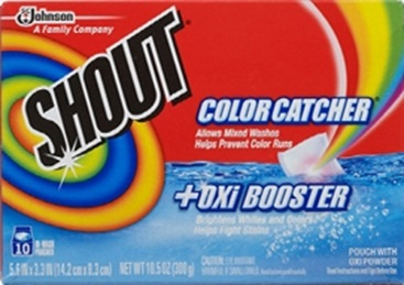 Shout® Color Catcher® + Oxi Booster