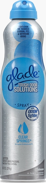 Tough Odor Solutions Premium Room Spray - Clear Springs®