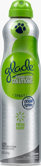 Tough Odor Solutions Premium Room Spray - Fresh Scent for Pet Odors