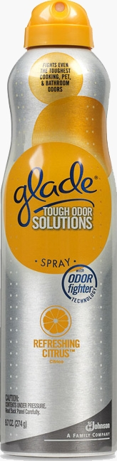 Tough Odor Solutions Premium Room Spray - Refreshing Citrus®