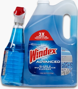 Windex® Advanced Glass & Multi-Surface Cleaner (Discontinued)