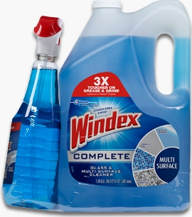 Windex® Complete Glass & Multi-Surface Cleaner