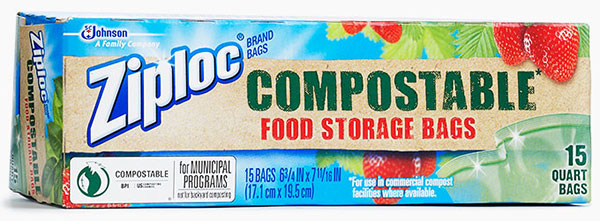 Ziploc® Brand Compostable Food Storage Bags (Discontinued)