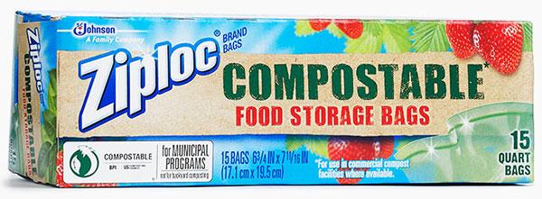 Ziploc Brand Compole Food Storage Bags