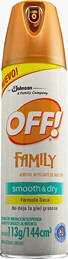 OFF!® Family  Smooth & Dry Seco Aerosol