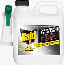 Raid® Crawling Insect Killer Do It Yourself Expert Outdoor Surface