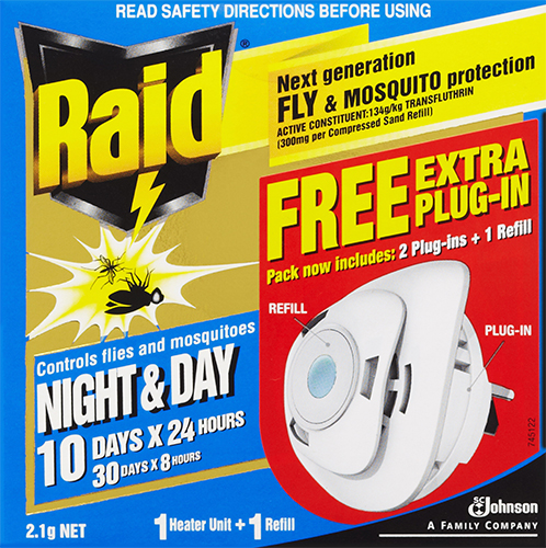 Raid® Night and Day Extra Plug-In Primary