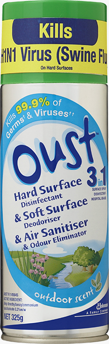 Oust® 3 in 1 Outdoor Scent Aerosol