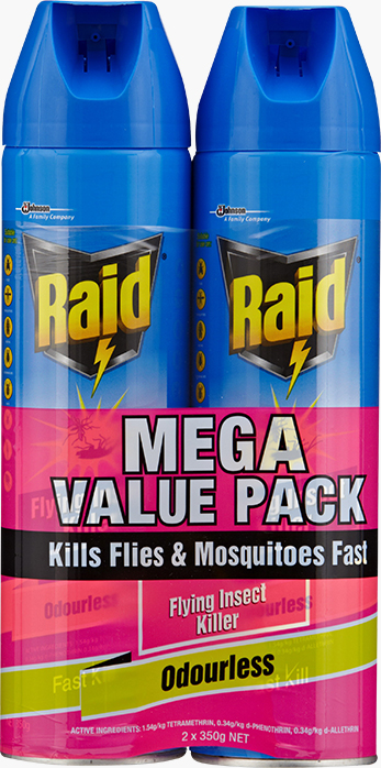 Raid® Flying Insect Killer Odourless Aerosol
