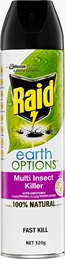 Raid® Earth Options Multi Insect Killer