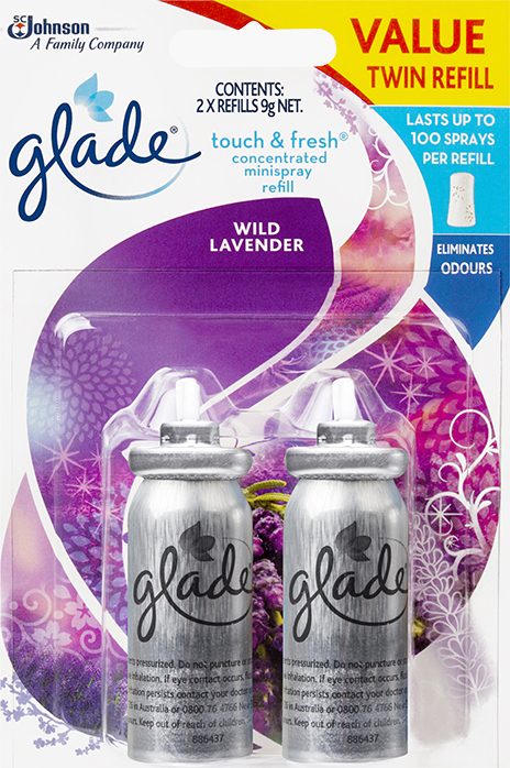 Glade® Touch & Fresh™ Wild Lavender (Discontinued)