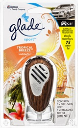 Glade® Sport™ Car Tropical Breeze