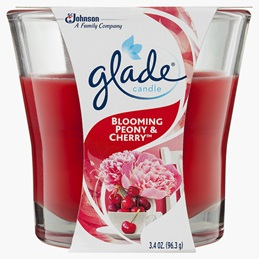 Glade® Candle Blooming Peony & Cherry