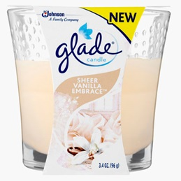 Glade® Candle Sheer Vanilla Embrace®