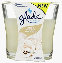 Glade® Candle Vanilla (Discontinued)