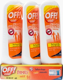 OFF!®  Family Insect Repellent Lotion