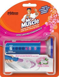 Mr Muscle® Fresh Discs Starter Fresh Floral