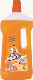 Mr Muscle® Floor Cleaner with exclusive fragrances from Glade® - Citrus