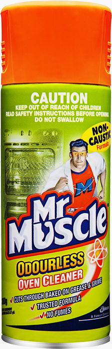 Mr Muscle® Oven Cleaner Non Caustic Aerosol