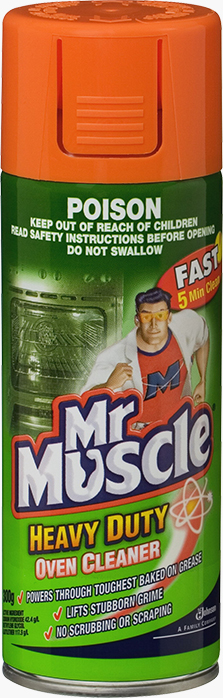 Mr Muscle® Oven Cleaner Caustic Aerosol
