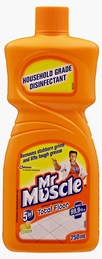 Mr Muscle® Floor Cleaner Lemon