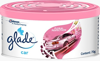 Glade® Mini Gel Car Floral Perfection
