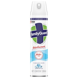 FamilyGuard Disinfectant Aerosol Mountain Air