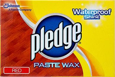 Pledge Wax Red