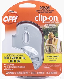OFF!® Clip On™ Mosquito Repellent (Discontinued)